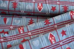 130274-5002 Vánoční motivy na šedé -