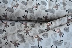 130295-3005 Opice na šedém podkladu -