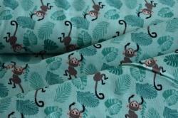 130295-3007 Opice na zeleném podkladu -