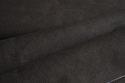 650242-7007 Koženka tmavě hnědá s černým vzorkem -