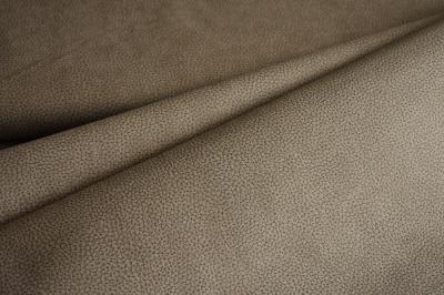 Látky Patchwork - Koženka béžová s tmavý vzorkem
