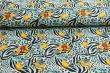 Látky Patchwork - Mimoni TROPIC na sv. modrém podkladu