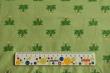 Látky Patchwork - Žabky na sv. zeleném podkladu