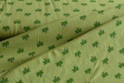 131645-3002 Žabky na sv. zeleném podkladu -