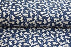 131652-3015 Šedé myši na modré -