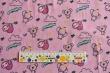 Látky Patchwork - Zvířátka s čísly na růžové