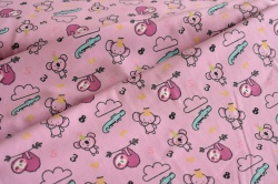 131641-3005 Zvířátka s čísly na růžové -