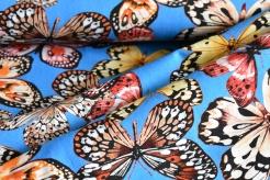 10641-004 Motýli na sv. modrém podkladu -