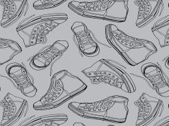 19-070 Boty na šedé -