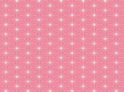 19-357 Geometrické tvary na řůžové -