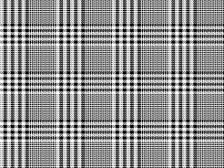 19-479 Černá kostka na bílé -