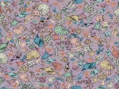 6201-269 Santoro My story - mořští živočichové na fialové -