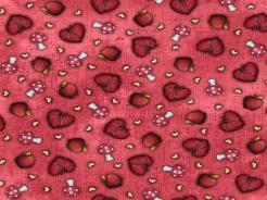 6201-326_l Santoro My story - srdce a muchomůrka na červené -