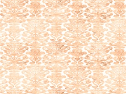 6201-327_l Santoro My story - oranž. ornamenty na bílé -