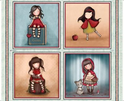 Látky Patchwork - Santoro My story - holčičky I.