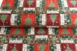 Látky Patchwork - Vánoční dlaždice - stromečky