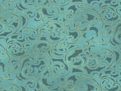 2506-333 Ornamenty na tyrkysové -