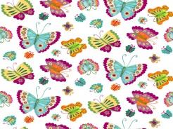4704-697 Motýli na bílé -