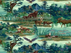 807-250 Lesní zvířata -
