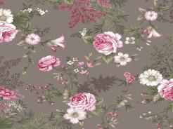 4500-748 Květiny růže na šedé -