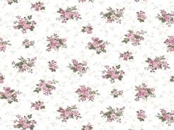 4500-755 Květiny růže na bílé -