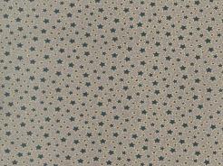 6890-059 Hvězdičky na šedé -