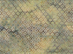 3364-316 Batika - kosočtverce na světle hnědé -