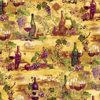 Látky Patchwork - Vineyard 388