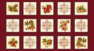 Látky Patchwork - Autumn  is calling  219