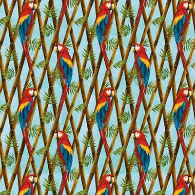 Látky Patchwork - Birds in Paradise 290