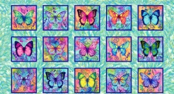807-430 Butterfy Paradise 430 - Panel 0,62 m