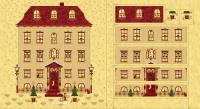 Látky Patchwork - Magic Christmas 287