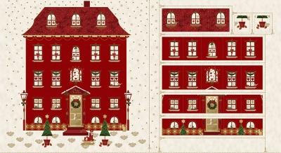 Látky Patchwork - Magic Christmas 479