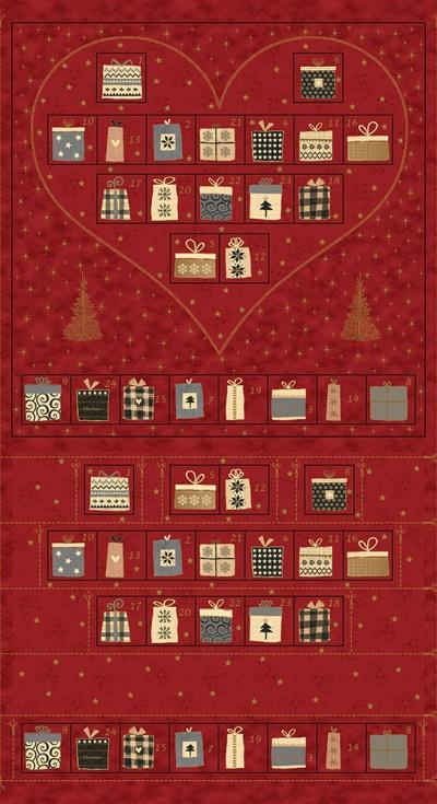 Látky Patchwork - Magic Christmas 478