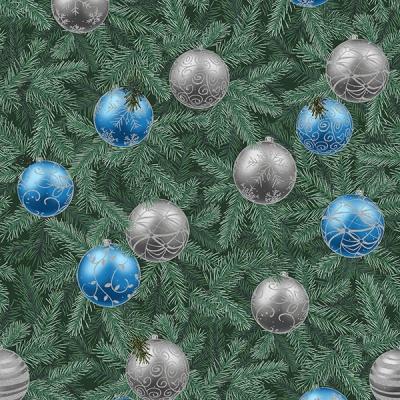 Látky Patchwork - Hoffman Christmas  604