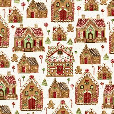 Látky Patchwork - Hoffman Christmas 123