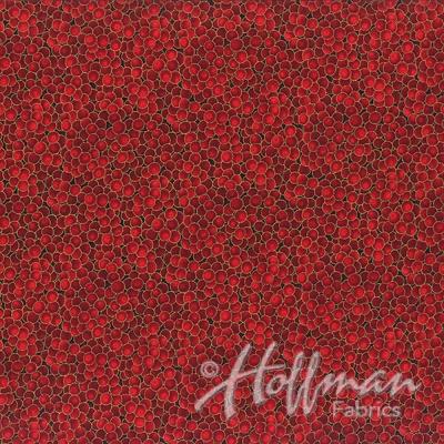 Látky Patchwork - Hoffman Christmas 002