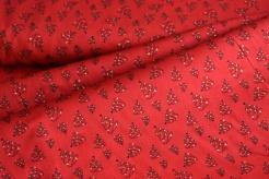 132855-5019 Stromky na červeném podkladu - zlatotisk
