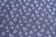 Látky Patchwork - Stromky na tmavě modrém podkladu