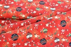 134368-0003 Vánoční baňky na červené -