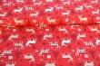 Látky Patchwork - Sobi na červené