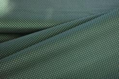 122346-1008 Zelené tečky na tm. zelené -